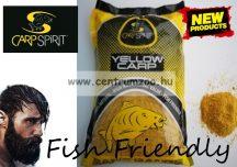 CARP SPIRIT France 100% Natural Bait - Yellow  Carp - prémium etető anyag 1000g