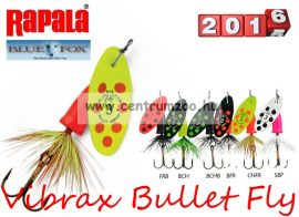 RAPALA BLUE FOX Vibrax Bullet Fly VBF2 villantó