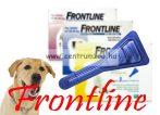 """FRONTLINE Spot On """"L"""" kullancs és bolha elleni csepp 20-40kg közti kutyáknak NEW"""