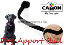 Camon fogtisztító TARTÓS köteles kötéllabda játék 7cm (A806/G)