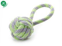JK Animals TARTÓS fogtisztító füles kötéllabda játék 9cm (45995-1)