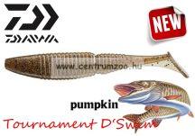 Daiwa Tournament D'swim gumihal pumpkin 9cm 5db  (16507-908)