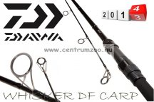 Daiwa WHISKER DF Carp 3,50lb 390cm prémium bojlis bot (WDFC3312) (173708)