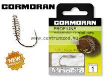 Cormoran PROFILINE Pasztáshorog 261N ELŐKÖTÖTT 10db/cs (70-261N)