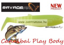 SAVAGE GEAR LB Cannibal Play Body 12,5cm 20g gumihal Chartreuse (57482)