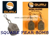 GURU Square Leads Bomb feeder ólom 1,1OZ 31g (GL07)