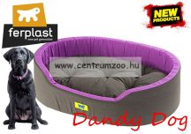 Ferplast Dandy 95 kutyafekhely 95cm Purple-Antracit (82945099 )
