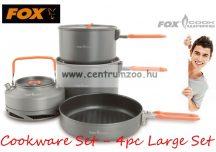 FOX Cookware Set - 4pc Large Set - 4 részes edény szett (CCW002)