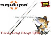 Sakura TRINIS Long Range SPIN 702M 2,13m 15-50g 2rész pergető bot (SAPRE801070)
