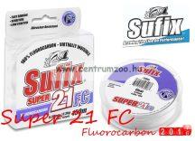 Sufix Super 21 Fluorocarbon 0,28mm 50m 12lb 5,1kg japán előkezsinór