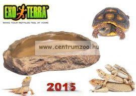 Exo-Terra etető-itatótál (15x12x2cm) 2811