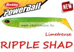 Berkley POWERBAIT RIPPLE SHAD 7cm Limetreuse (1376939)