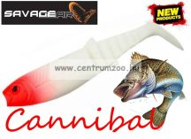 SAVAGE GEAR LB Cannibal Play Body 10cm gumihal Red Head (67021)