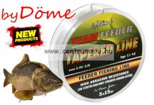 by Döme Team Feeder Tapered Leader 15m x5 0.195-0.28 (3246-019) pontyos dobóelőke