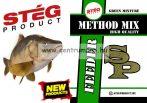 Stég Product - Method Mix - Green Mixture 800g feeder etető anyag