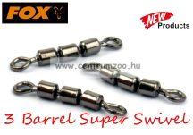 Fox Matrix 3 Barrel Super Swivel Size 14 forgókapocs 10db  (GAC169)