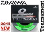 DAIWA TOURNAMENT 8X Braid 135m 0,20mm 18,8kg fonott zsinór (12705-120) chartreuse