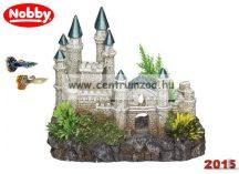 Nobby akvárium dekoráció kastély 18,2*15,5*11,5cm (28086)