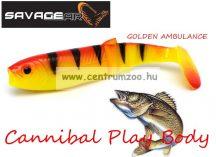SAVAGE GEAR LB Cannibal Play Body  8cm gumihal Golden Ambulance (58987)
