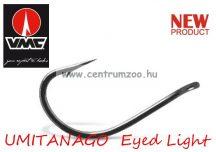 VMC 7137 UMITANAGO EYED Light füles pontyozó horog