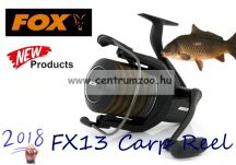 FOX FX13 Carp Reel pontyozó orsó (CRL071) PÓTDOB NÉLKÜL