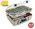 Plano 1350 Magnum kétszintes doboz nagy 45x31x19cm beige/kék
