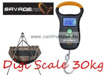 MÉRLEG - SAVAGE GEAR Digi Scale Large mérleg 30kg (45212)