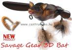 Savage Gear 3D Bat 7cm 14g Brown (58323) denevér formájú műcsali