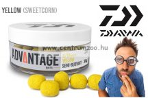 Daiwa Advantage Baits Semi Buoyant 6/8mm 30g  Hookbait Yellow (sweetcorn) (13300-104)