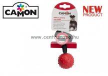 Camon Palla in gomma con corda KÖTELES LABDA és kiképző kutyáknak 50mm 38cm (AD052A)