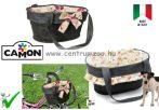 Camon Bike Borsa Jeans copricestino per bici - kerékpáros kutya szállító, hordozó apró virágos (CC063/B2)