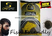 CARP SPIRIT France 100% Natural Bait - Cold Water Black - prémium etető anyag 1000g