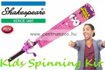 Shakespeare Catch a Monster Kids Spin Rods Pink pergető bot (1506888) pink