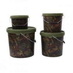 Gardner - CAMO BUCKET SMALL -  5 LITRE - terepmintás vödör BUCSC (5060218453437)