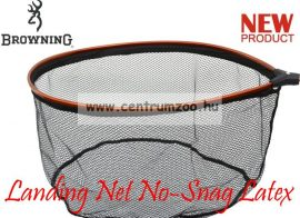 MERÍTŐFEJ  Browning Landing Net No-Snag Latex XL 60x48cm (7029044)