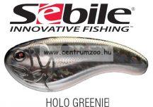 Sebile® Flatt Shad megbízható wobbler FS-050-SK - Holo Greenie HGR (1404989)