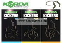 Korda Green Kickers Medium - kötésvédő  és horogbefordító 10db (KICK02)