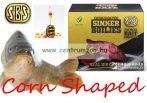 SBS Corn Shaped Sinker Boilies fűzhető csali 8-10mm 60g - C2 (tintahal-áfonya)