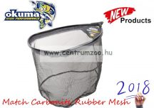 MERÍTŐFEJ  Okuma Match Carbonite Net 3mm Rubber Mesh 18'' 45x35x30cm (54182)