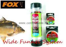 FOX Wide Funnel System 10m Heavy Mesh 35mm HÁLÓ CSÖVÖN (CPV001)