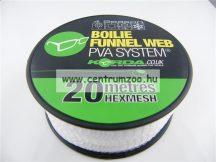 KORDA Boilie Web PVA HEXMESH – 20m PVA háló utántöltő (KBHR20)