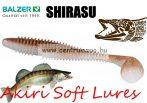 Shirasu Soft Lures Akiri gumihal 7cm (13630002) Hiroko colours