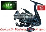 D.A.M Quick® Fighter Pro Metal 330 FD 2+1BB elsőfékes orsó  (D51829)