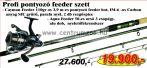 Nevis Profi Ponyozó feeder szett  akciós áron 1620-390+ 2292-350 (KB-423)