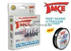 TAKE® AKASHI ULTRACLEAR FLUOROCARBON 50m 0,22mm 9kg
