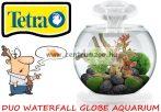 Tetra Duo Waterfall Cascade Globe Black akvárium szett 6,8 liter - FEHÉR (279957)