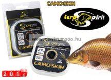 Carp Spirit Camo Skin 25lbs 11,3kg 20m Camo Green- fonott előkezsinór