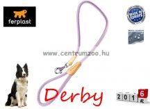 Ferplast Derby G12/110 Violet bőr póráz erős kivitelben