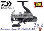 DAIWA Crosscast SP 5000LD QD prémium távdobó pontyhorgász orsó  (10128-606)