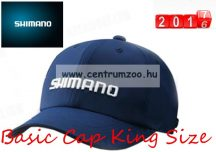 Shimano Base Cap King Size Navy 2017New baseball sapka (CA031PKNV)